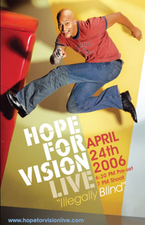 Hope For Vision, Live! Keegan Michael Key