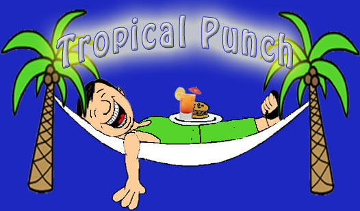 Tropical Island Cartoon: Bahamas Corporate Events